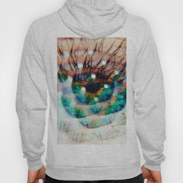 Green Eyes Hypnotize Hoody