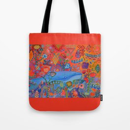 Free Floating Tote Bag