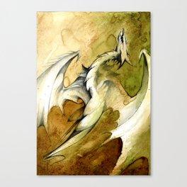 Wyvern Ascent Canvas Print