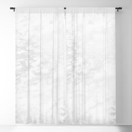 White Marble Silver Glitter Gray Blackout Curtain