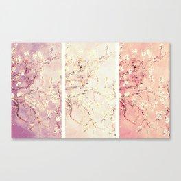 Vincent Van Gogh : Almond Blossoms Panel ART Canvas Print
