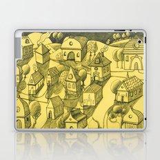 Moonlit Village Laptop & iPad Skin