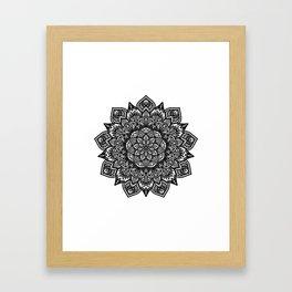 Spring Mandala Framed Art Print