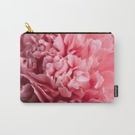 Peony Photography   Hot Pink Flower   Floral Art Print   Nature   Botany   Plant Carry-All Pouch