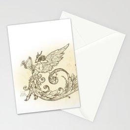 Renaissance Satyr Grotesque Stationery Cards