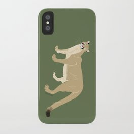 Carnivores of World: Cougar Pum(a) (c) 2017 iPhone Case