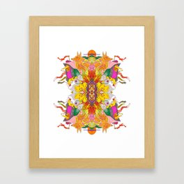 Free Psych and Mirrors - Antonio Feliz Framed Art Print