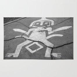 Sidewalk art Rug