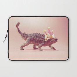 Ankylosaurus with crown Laptop Sleeve