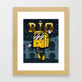 The Face of Rio - Teresa's Tram Framed Art Print