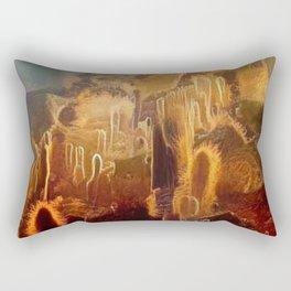 School of Marine Cacti Rectangular Pillow