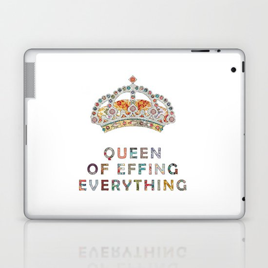 her daily motivation Laptop & iPad Skin