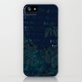 """""""Conquest of the Useless"""" by Werner Herzog Print (v. 5) iPhone Case"""