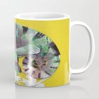 chameleon Mugs featuring chameleon by Ruud van Koningsbrugge
