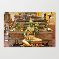 thailand Canvas Prints featuring Thailand by my camera is a jar