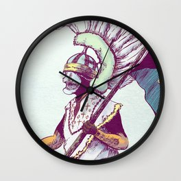 Costumed Person Wall Clock