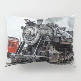 Strasburg Railroad Vintage Steam Locomotive Baldwin Train Engine Pennsylvania Pillow Sham