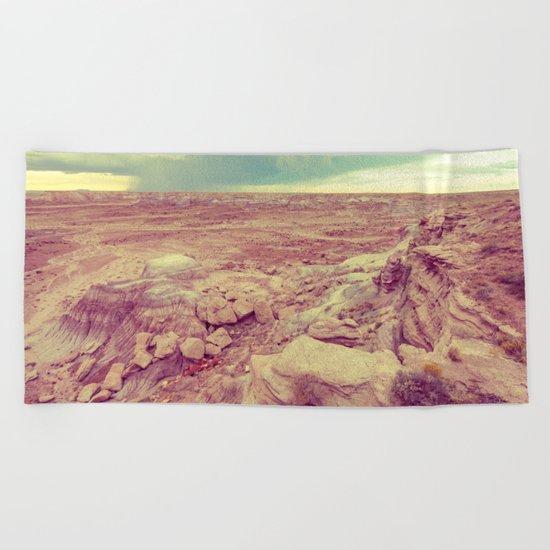 Desert Rain Beach Towel