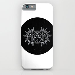 sun & moon iPhone Case