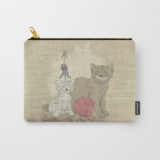 Naughty Cats Carry-All Pouch