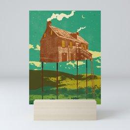 RIVER HOUSE Mini Art Print