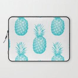 Teal Pineapple Laptop Sleeve