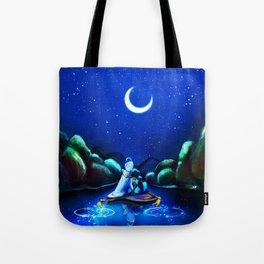 Starry Night Aladdin Tote Bag