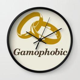 Gamophobic Wall Clock