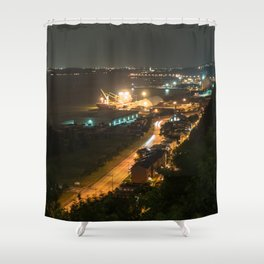 Le Fleuve Urban Shower Curtain