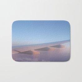 Flying High at Sunset Bath Mat
