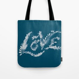 Love Cyanotype Tote Bag