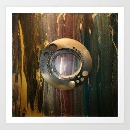 Dark Rings Art Print