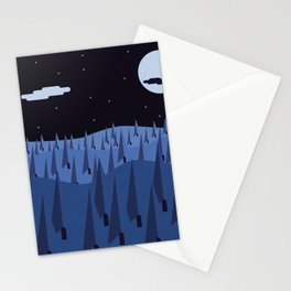 Forest & Moon Stationery Cards
