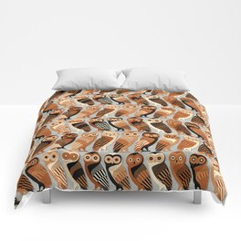 Owls of Athens Comforters