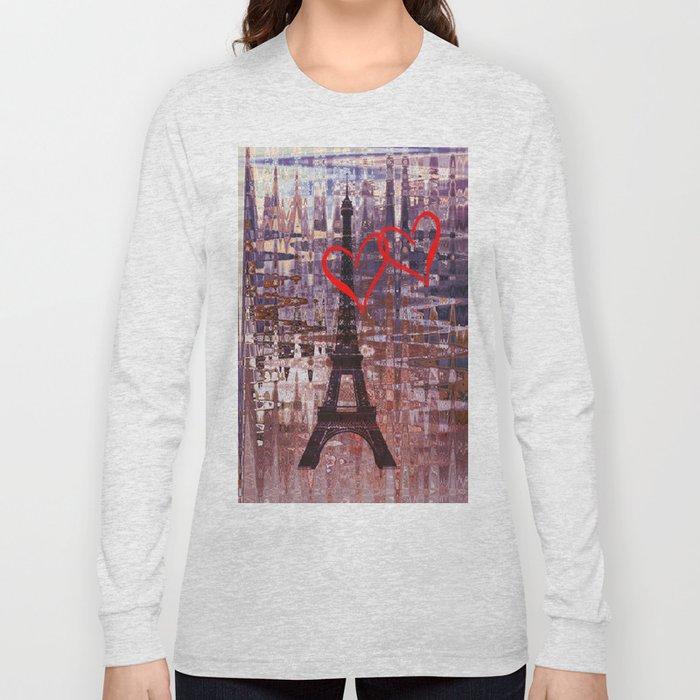 Evening in Paris Long Sleeve T-shirt