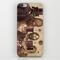 brown iPhone & iPod Skins featuring Victorian Wars  by Terry Fan