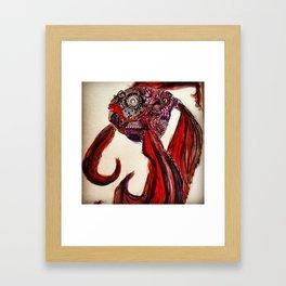 Don't be Koi  Framed Art Print