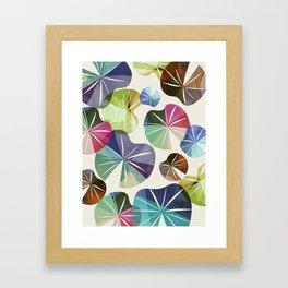 I dream of Lilypads Framed Art Print