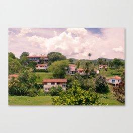 Cuban Town Canvas Print