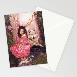 Princess of the Forest Stationery Cards