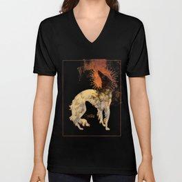 Fiery Beacon Unisex V-Neck
