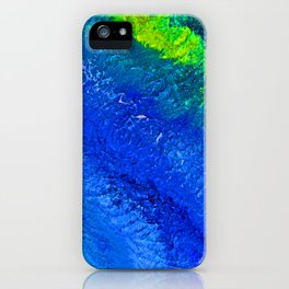 """Riptide #4"" Oil Painting iPhone Case"