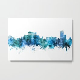 Athens Greece Skyline Metal Print