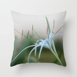 Spider Lily #4 Throw Pillow