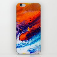 return iPhone & iPod Skins featuring Return by Kimsey Price