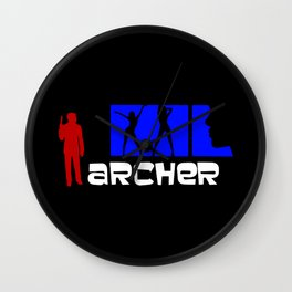 Archer Wall Clock