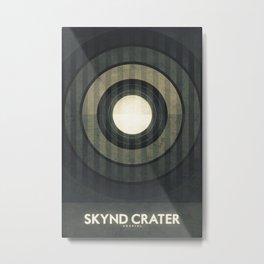 Umbriel - Skynd Crater Metal Print