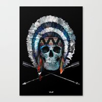 indian Canvas Prints featuring Indian by Guilherme Rosa // Velvia