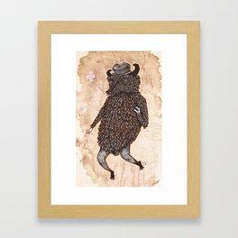 movin & groovin' Framed Art Print