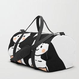 Cute  Retro Mermaid Sisters BFF Duffle Bag